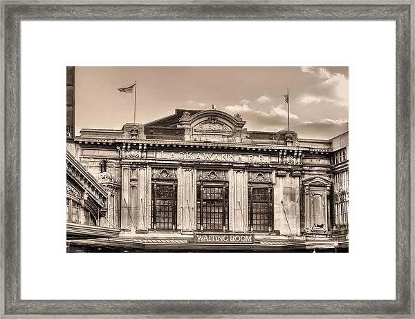 Lackawanna Bw Framed Print by JC Findley