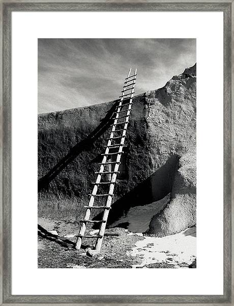 Ladder To The Sky Framed Print