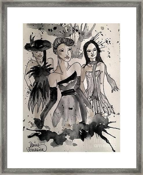 Ladies Galore Framed Print