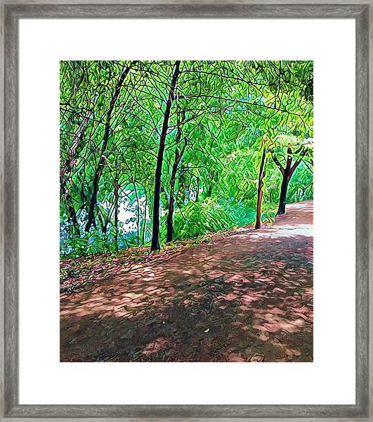 Lady Bird Trail Framed Print