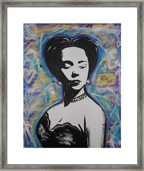Lady Dandridge Framed Print