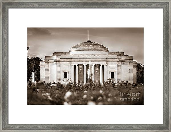 Lady Lever Art Gallery Framed Print