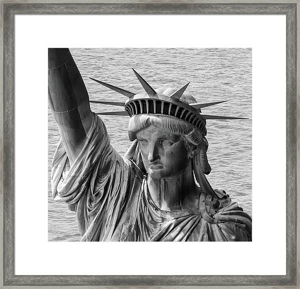 Lady Liberty 1 Framed Print