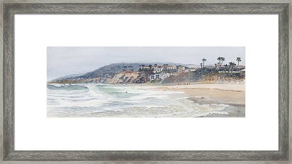Salt Creek Beach Framed Print by Tom Dorsz