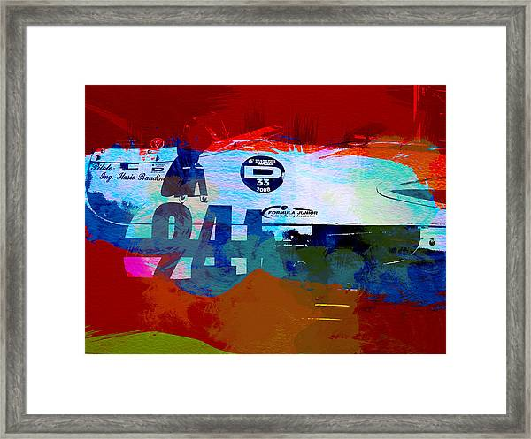 Laguna Seca Racing Cars 1 Framed Print