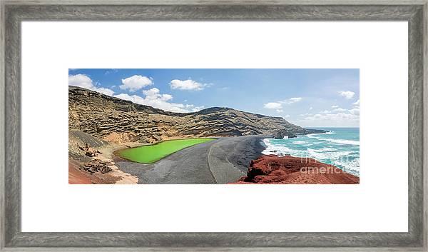 Laguna Verde Framed Print