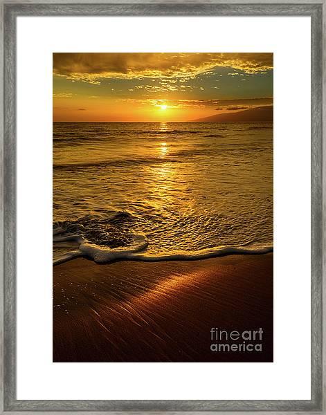 Lahaina Glow Framed Print