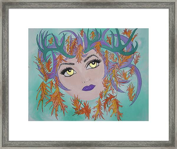 Laidy Gaga Number Two Framed Print