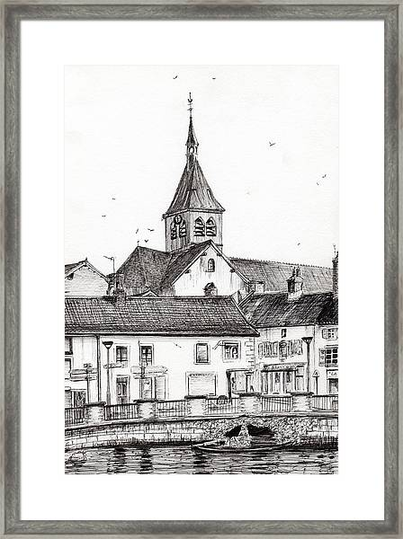Laignes France Framed Print