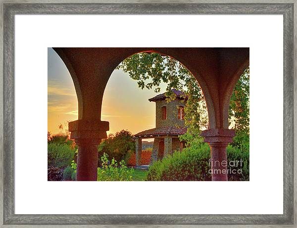 Lajitas Sunrise Framed Print