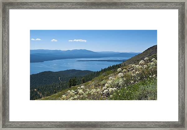 Lake Almanor Framed Print