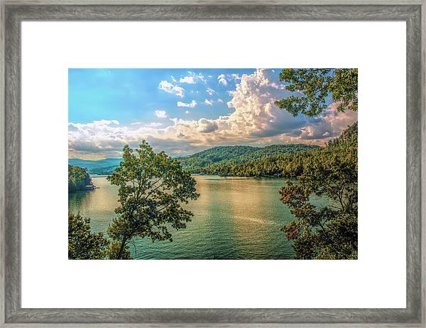 Lake Burton Framed Print