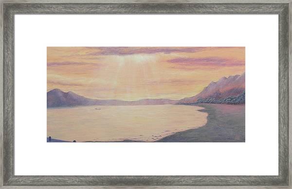 Lake Chapala Framed Print