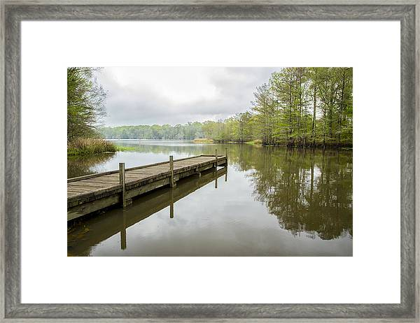 Lake Chicot 01 Framed Print
