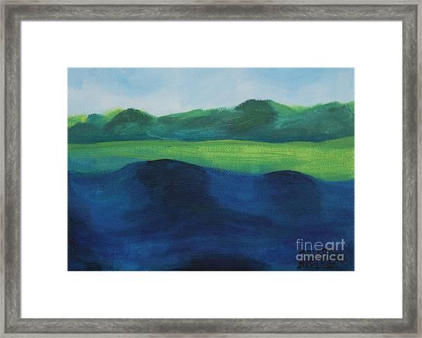 Lake Day Framed Print
