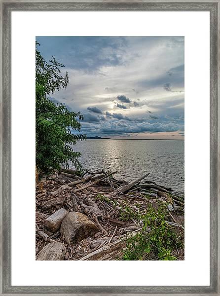 Lake Erie Serenade Framed Print