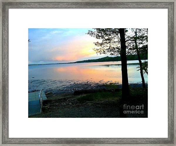Lake In Virginia Framed Print