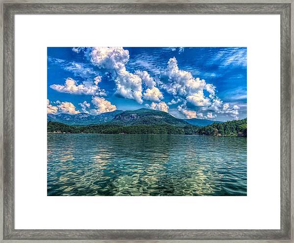 Lake Lure Beauty Framed Print