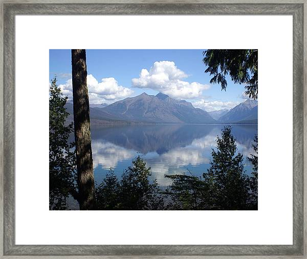 Lake Mcdonald Glacier National Park Framed Print