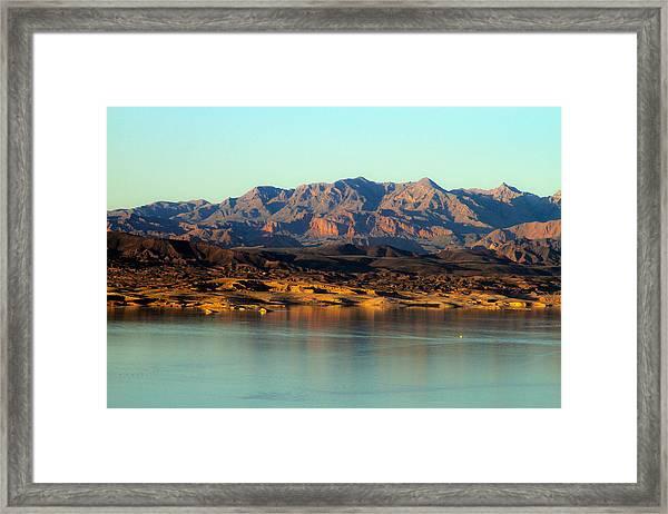 Lake Mead Before Sunset Framed Print