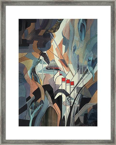 Lake Mead Framed Print