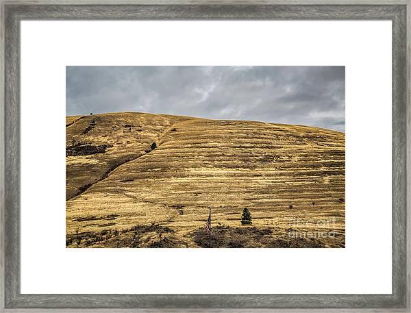 Lake Missoula Framed Print