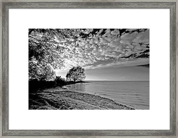 Lake Ontario. New York  Framed Print