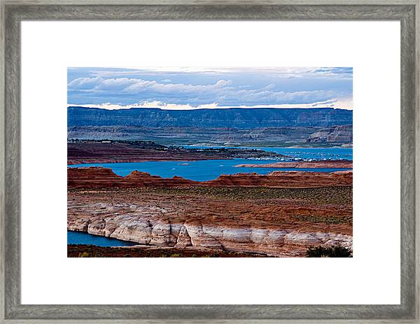 Lake Powell Framed Print by Larry Gohl