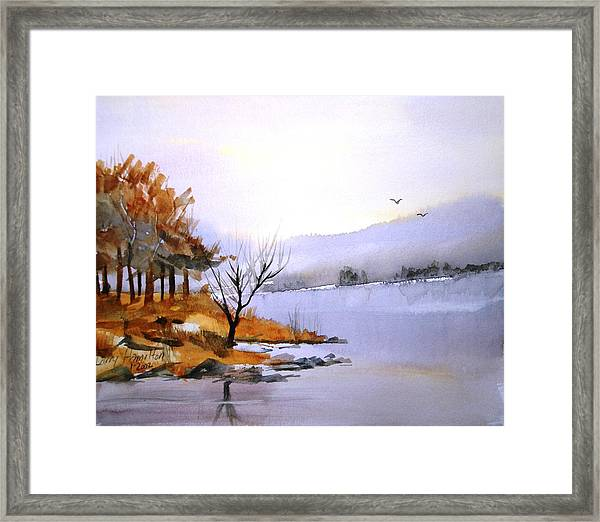 Lake Ransom Framed Print