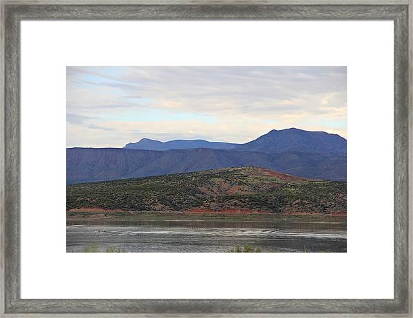 Lake Roosevelt 1 Framed Print