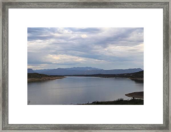 Lake Roosevelt 2 Framed Print