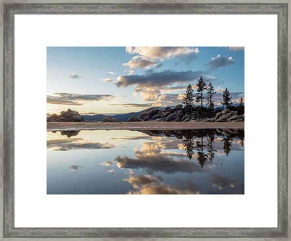 Lake Tahoe Mirror Framed Print