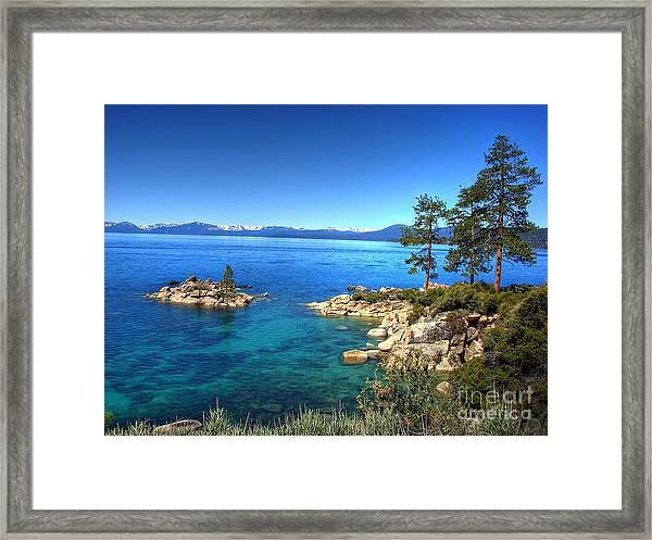 Lake Tahoe State Park Nevada Framed Print