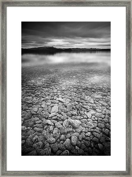 Lake Thingvallavatn Iceland Framed Print