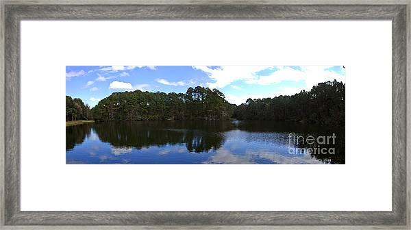 Lake Thomas Hilton Head Framed Print