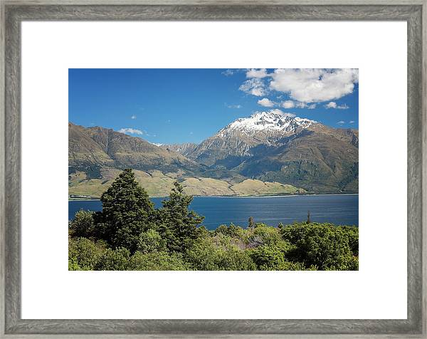 Lake Wanaka New Zealand Iv Framed Print
