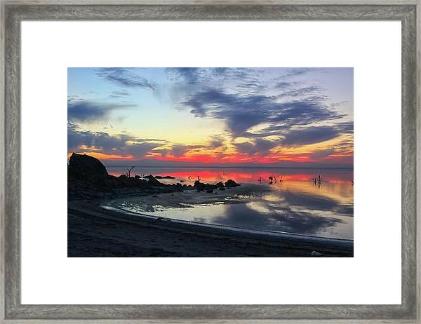 Lakeshore Drive Framed Print