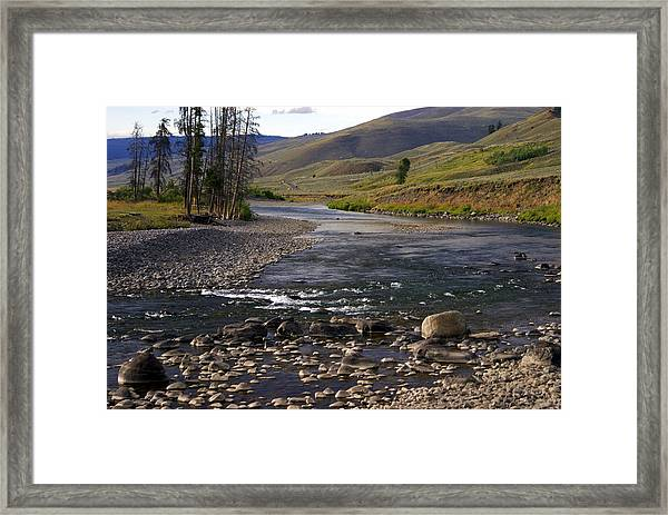 Lamar Valley 3 Framed Print