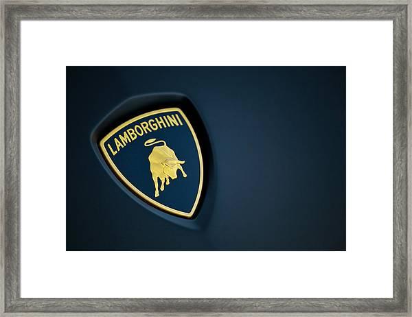 Lamborghini  Framed Print