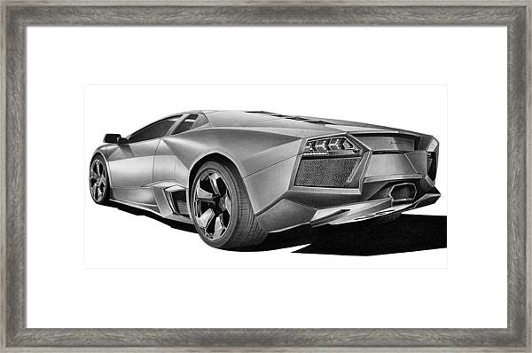 Lamborghini Reventon Drawing By Lyle Brown