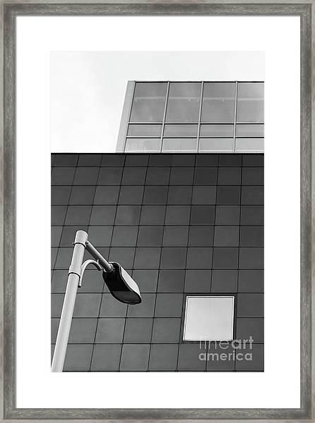 Lamp #9172 Framed Print