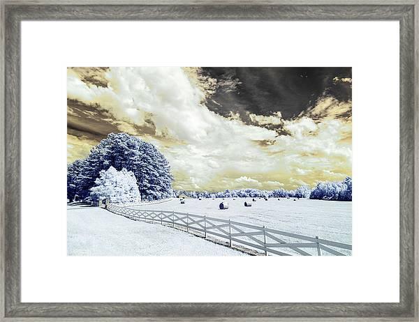 Lancaster Farm In Ir Framed Print