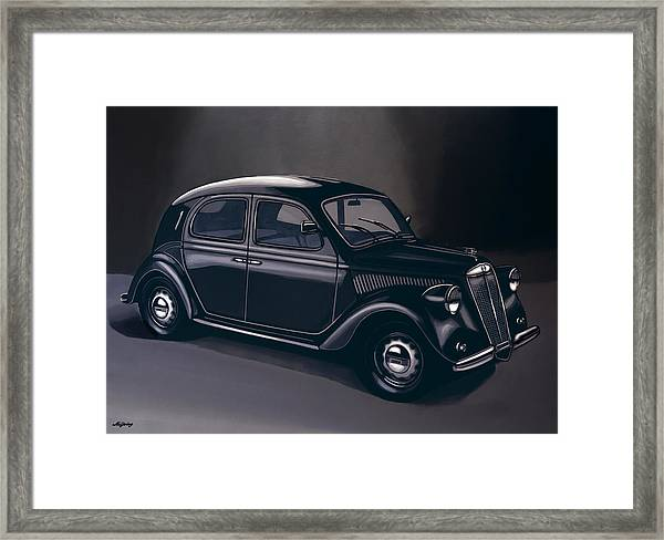 Lancia Ardea 1939 Painting Framed Print