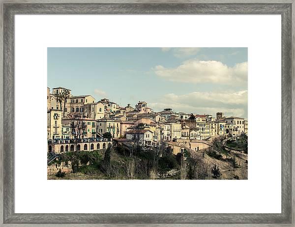 Lanciano - Abruzzo - Italy  Framed Print