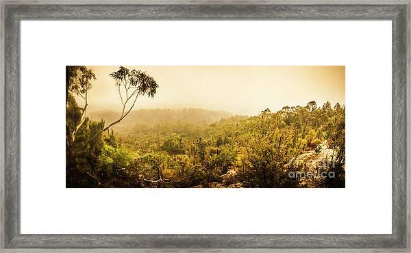 Land Before Time Framed Print