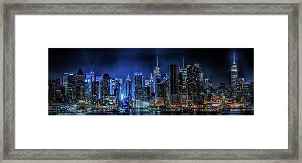 Land Of Tall Buildings Framed Print