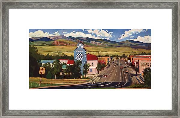 Lander 2000 Framed Print