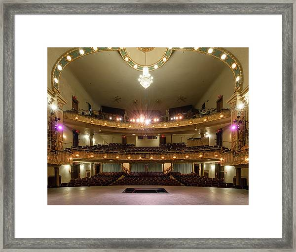 Landers Theatre Framed Print