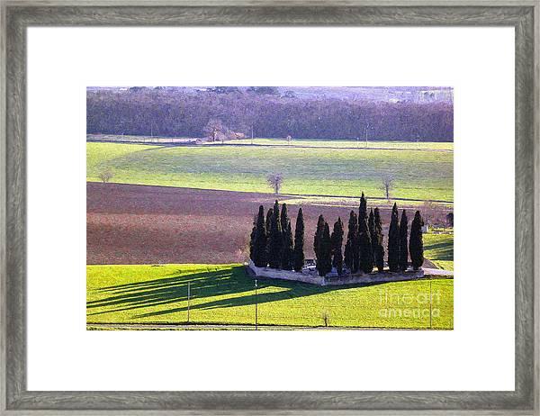 Landscape 3 Framed Print