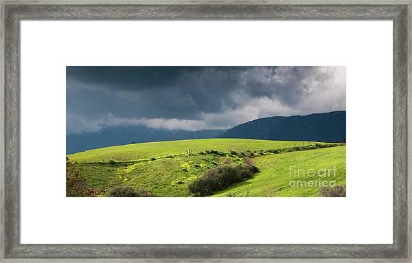 Landscape Aspromonte Framed Print